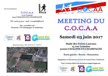 Meeting du COCAA